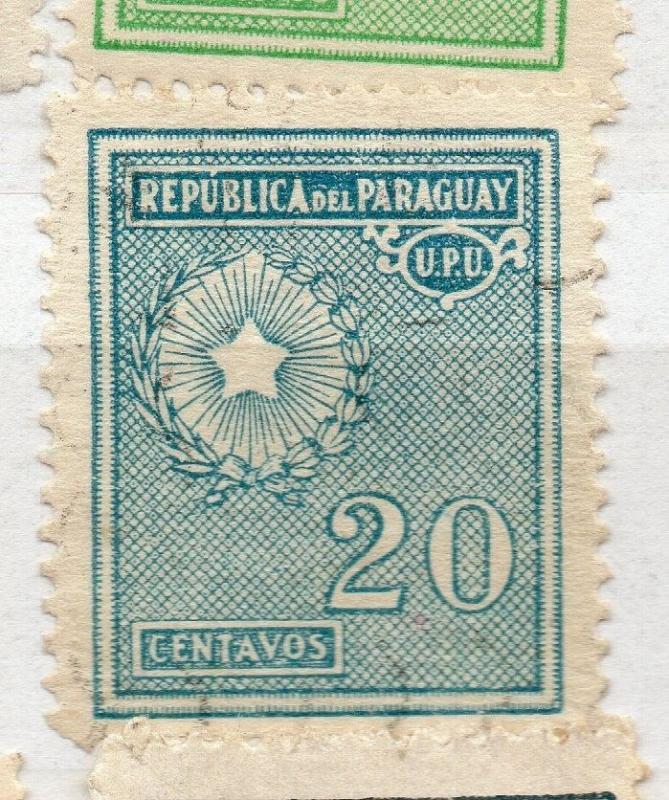 Paraguay 1927-42 Early Issue Fine Used 20c. 282605