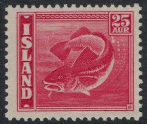 Iceland #224*  CV $32.50