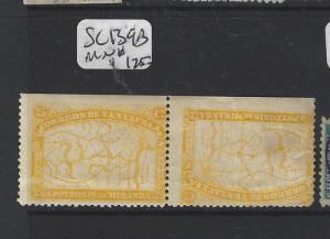 VENEZUELA  (P1402B)  MAP SC 139B TETE BECHE PR MNH