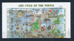 [35356] Palau 1995 Reptiles Sea turtle MNH Sheet