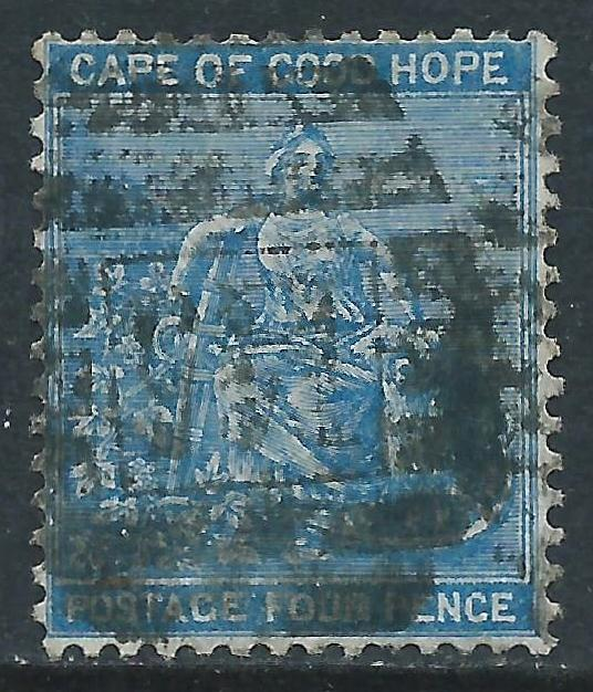 Cape of Good Hope, Sc #17, 4d Used