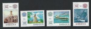 Barbados   mnh   s.c.# 731-734