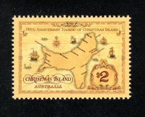 Christmas Island 357,  VF, MNH, Post Office Fresh, CV $3.75 ...... 1370072/3/4/5