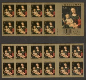 4206a Madonna & Child Booklet Of 20 Mint/nh FREE SHIPPING