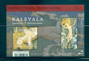 Finland - Sc# 1213. 2004 Norse Gods. MNH Souv. Sheet. $6.25.