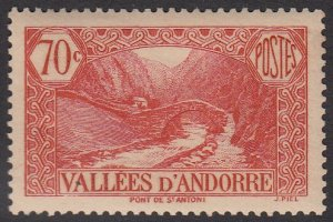 French Andorra 43 MLH (see Details) CV $2.75