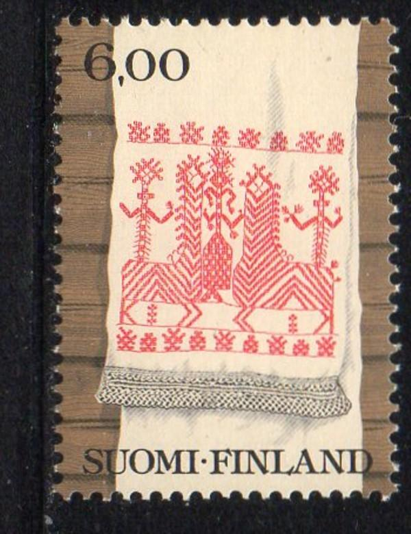 Finland Sc 637 1980 6.0 m Towel stamp mint NH