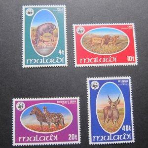 Malawi 1978 Sc 319-322 set MNH