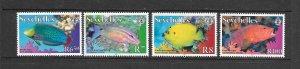 FISH - SEYCHELLES #893-6 (dated 2010)  MNH