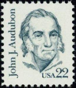 1863 John J. Audubon F-VF MNH single