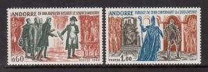 French Andorra #73 VF Mint