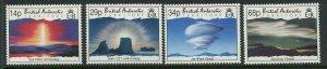 British Antarctic Territory Scott 198-201 Lower Atmospheric Clouds 1992 Mint NH