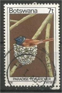 BOTSWANA, 1978, used 7t, Birds. Scott 203