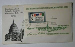 SIPEX Washington DC Sc# 1310-1311 Multipe Dates Philatelic  Expo Cachet Covers