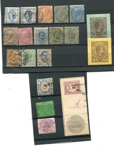 Italy  Lot of oldies  Used and Unused F-VF  -  Lakeshore Philatelics