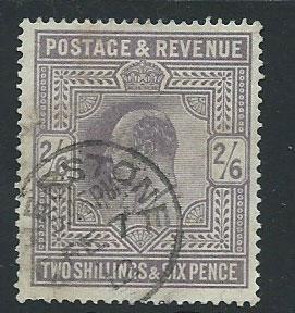 GB Edward VII SG 260  good used nicely centered