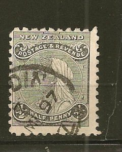 New Zealand 67A Queen Victoria Used