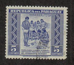 Paraguay Scott #437 Used