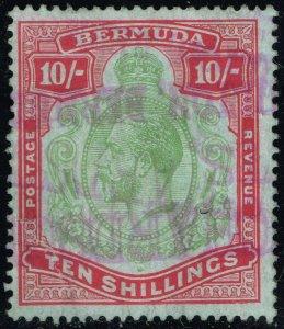 Bermuda #96 King George V; Used (1Stars)