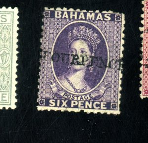 BAHAMAS #26 MINT FINE OG LH CREASE Cat $725