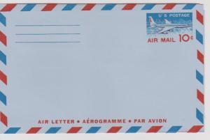 USA 6 Mint Post Office Fresh Aerograms