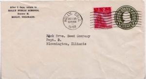 United States, Colorado, 1940's Commemoratives, Postal Stationery