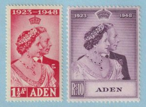 ADEN 30 - 31  MINT NEVER HINGED OG ** NO FAULTS EXTRA FINE! - X950