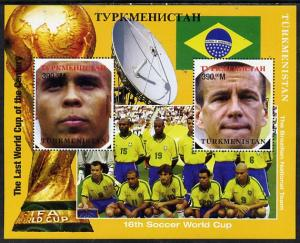 Turkmenistan 1998 Football World Cup - Brazilian Team per...