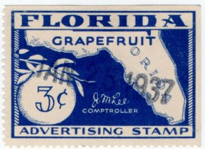 (I.B) US Revenue : Grapefruit Advertising 3c (Florida)