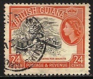 British Guiana 1963 Scott# 282 Used