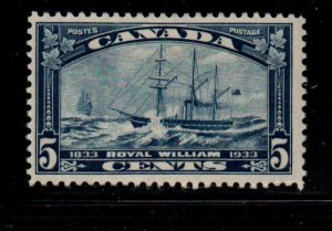 Canada Sc 204 1933 5c Steamship Royal William  stamp mint