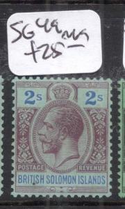 British Solomon Islands SG 49 MOG (2djd)