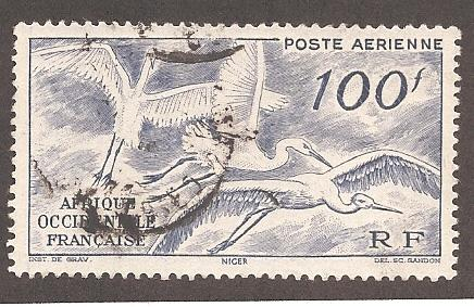 French West Africa C13 Used VF