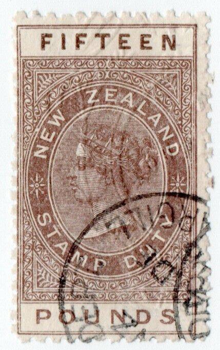 (I.B) New Zealand Revenue : Stamp Duty £15