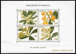 Monaco Scott 1472 (1985) Mint NH VF B