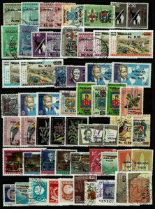 Venezuela 58 Mint and Used, few faults - G102