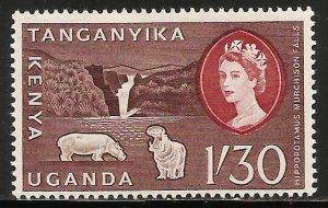 Kenya, Uganda & Tanzania 1960 Scott# 130 MH
