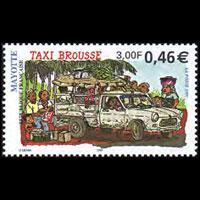MAYOTTE 2001 - Scott# 148 Bush Taxi Set of 1 NH