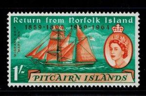 Pitcairn Islands 34 MNH VF lovely copy