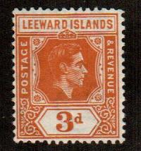 Leeward Islands #109a  Mint  Scott $22.50