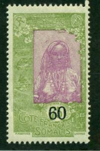 Somali Coast 1922 #125 MH SCV(2018)=$0.70