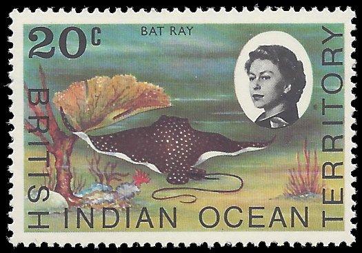 British Indian Ocean Territory 1968 #19 Mint NH