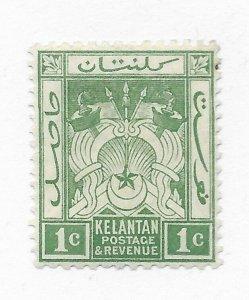 Malaya Kelantan #14 MH - Stamp CAT VALUE $5.00