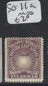 BRITISH EAST AFRICA (P3103B) SUN 4 1/2 A  SG  11A    MOG