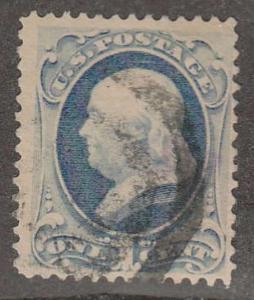 U.S. Scott #182 Stamp - Used Single