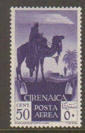 Cyrenaica #C6 Mint