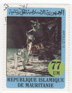 Mauritania, SW784, CTO-NH, 1982,Apollo 11