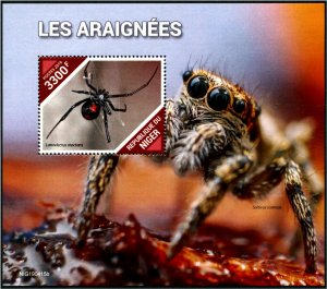 2019 Niger - Spiders SS (Scott NA) MNH
