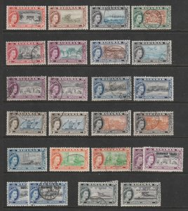 Bahamas a M&U lot of early QE2 values to 10/-