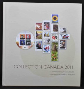 CANADA 2011 Stamp Yearbook USA delivery only.